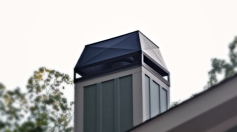 Outdoor Fireplace Chimney Tops
