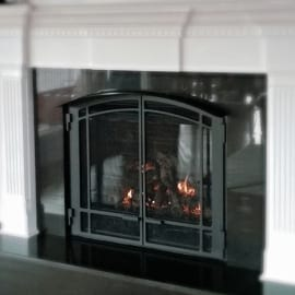 High-Efficiency Gas Fireplaces